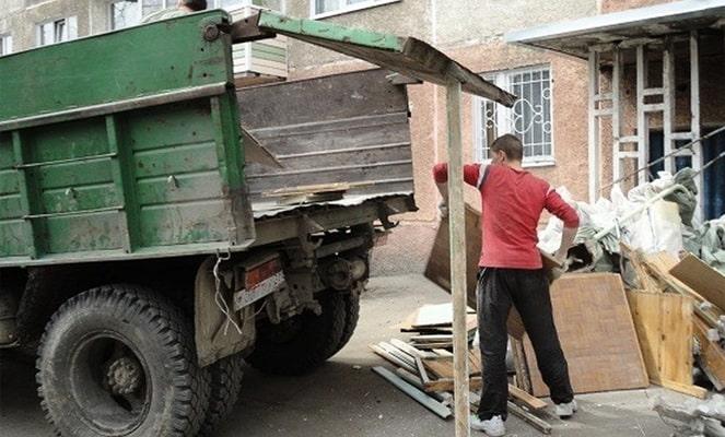 Вывоз строительного мусора под ключ