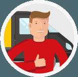 Информация о водителе заранее
