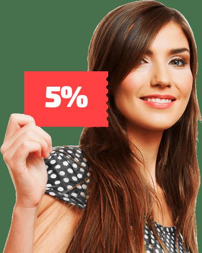 Купон на 5%